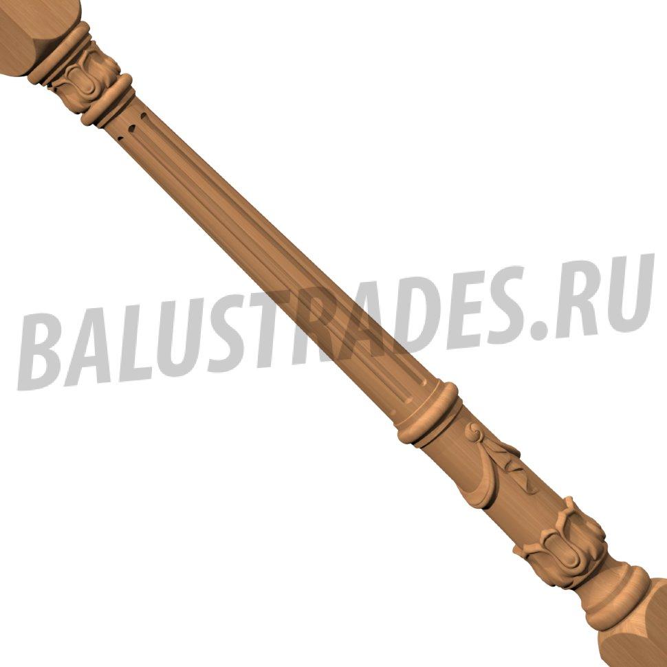 Цены деревянные Столбы и Балясины